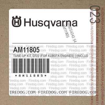 Husqvarna AM11805 - Tune-Up Kit, D722 (for Kubota Engines