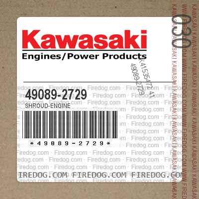 49089-2729 SHROUD-ENGINE