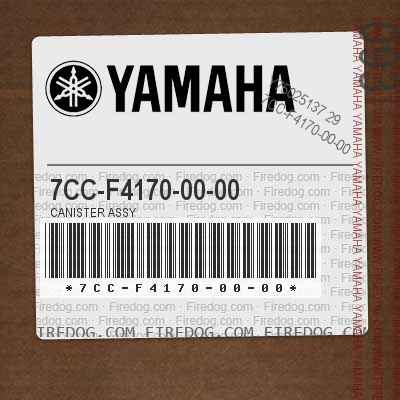7CC-F4170-00-00 CANISTER ASSY