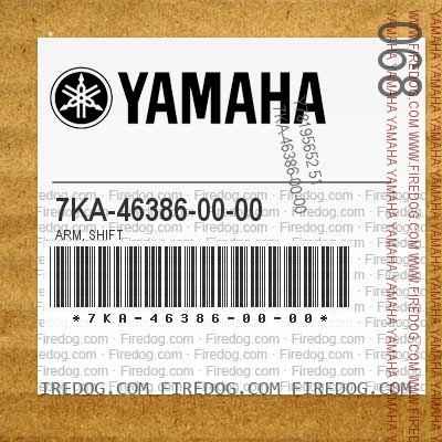 7KA-46386-00-00 ARM, SHIFT