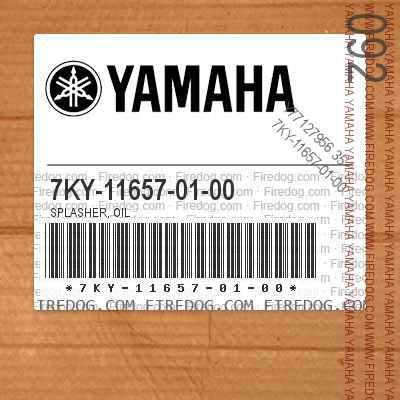 7KY-11657-01-00 SPLASHER, OIL