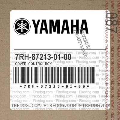 7RH-87213-01-00 COVER, CONTROL BOX