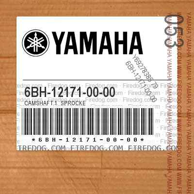 6BH-12171-00-00 CAMSHAFT 1  SPROCKE