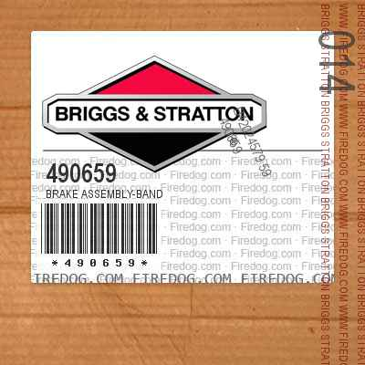490659 Brake Assembly-Band