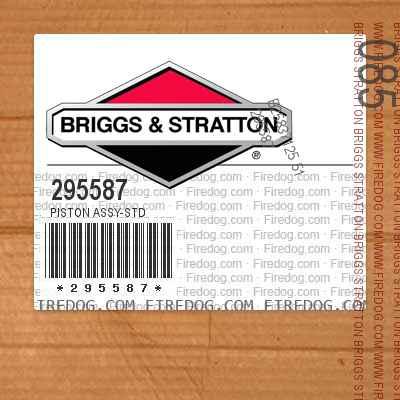 295587 Piston Assy-Std
