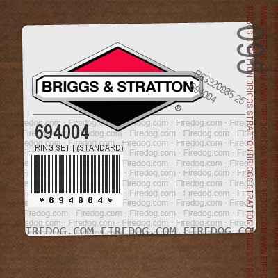 694004 Ring Set | (Standard)