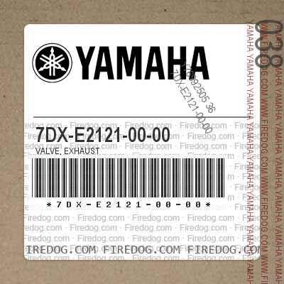 7DX-E2121-00-00 VALVE, EXHAUST