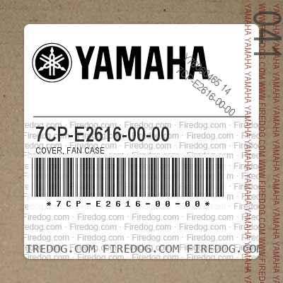 7CP-E2616-00-00 COVER, FAN CASE