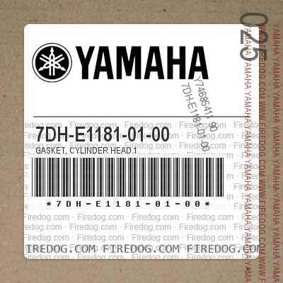 7DH-E1181-01-00 GASKET, CYLINDER HEAD 1