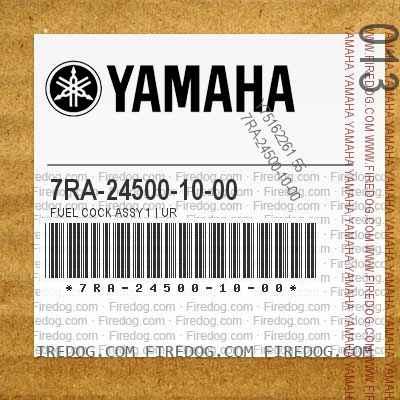 7RA-24500-10-00 FUEL COCK ASSY 1 | UR