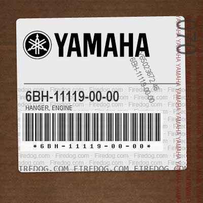 6BH-11119-00-00 HANGER, ENGINE