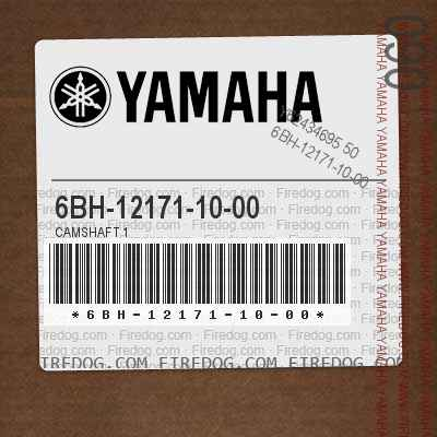 6BH-12171-10-00 CAMSHAFT 1