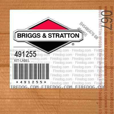 491255 Kit-Label