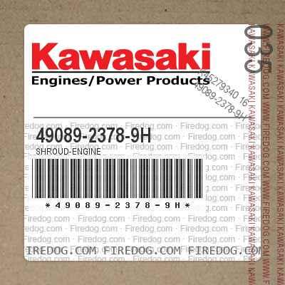 49089-2378-9H SHROUD-ENGINE