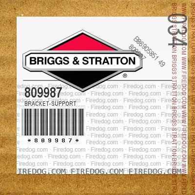 809987 Bracket-Support