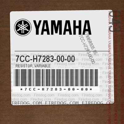 7CC-H7283-00-00 RESISTOR, VARIABLE