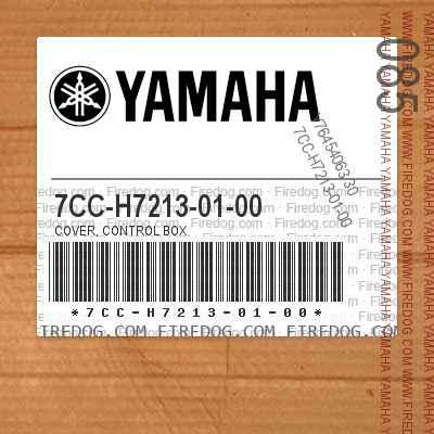 7CC-H7213-01-00 COVER, CONTROL BOX