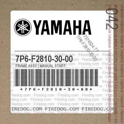 7P6-F2810-30-00 FRAME ASSY   MANUAL START
