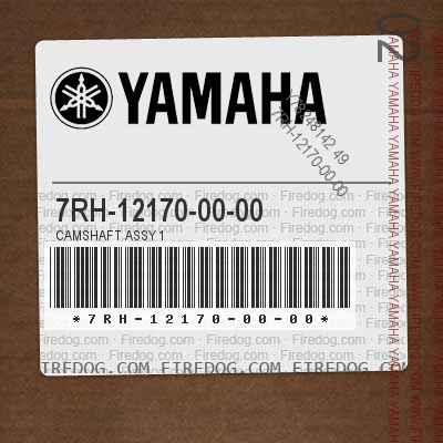 7RH-12170-00-00 CAMSHAFT ASSY 1