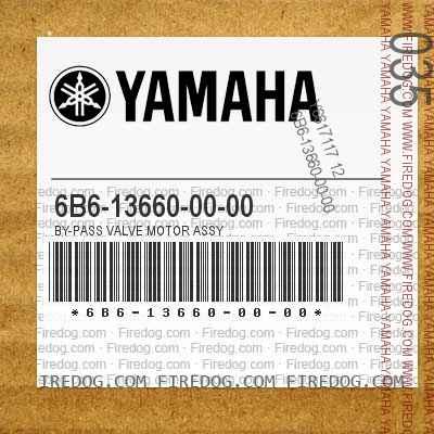 6B6-13660-00-00 BY-PASS VALVE MOTOR ASSY