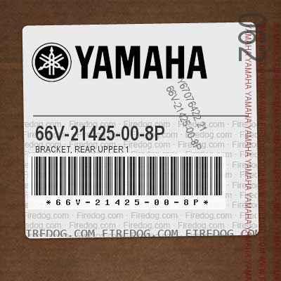 66V-21425-00-8P BRACKET, REAR UPPER 1