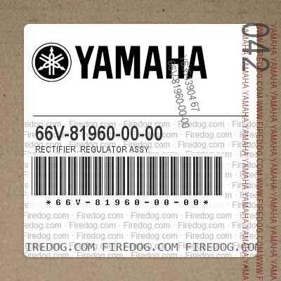 66V-81960-00-00 RECTIFIER  REGULATOR ASSY