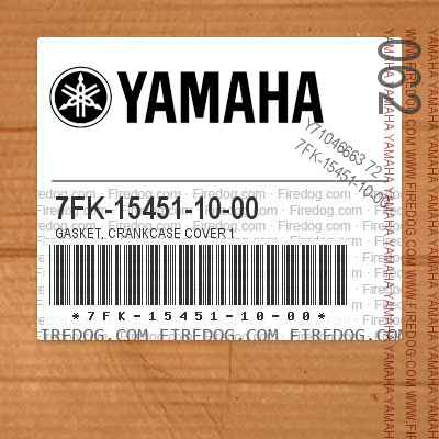 7FK-15451-10-00 GASKET, CRANKCASE COVER 1