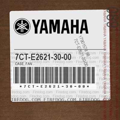 7CT-E2621-30-00 CASE, FAN