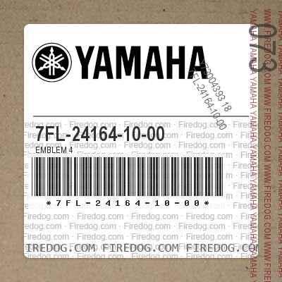 7FL-24164-10-00 EMBLEM 4