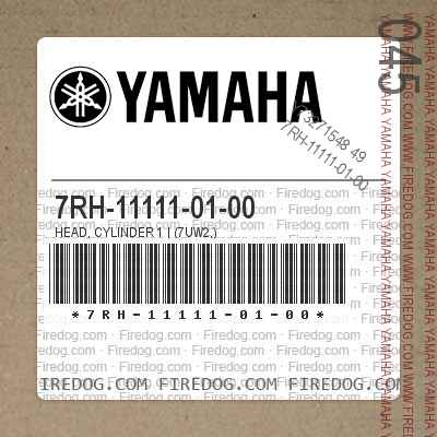 7RH-11111-01-00 HEAD, CYLINDER 1 | (7UW2,)