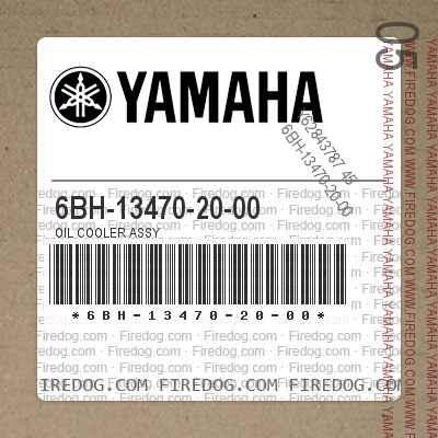 6BH-13470-20-00 OIL COOLER ASSY