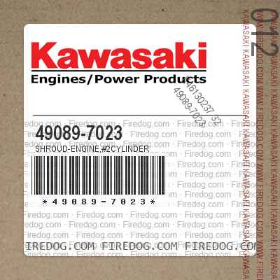 49089-7023 SHROUD-ENGINE,#2CYLINDER