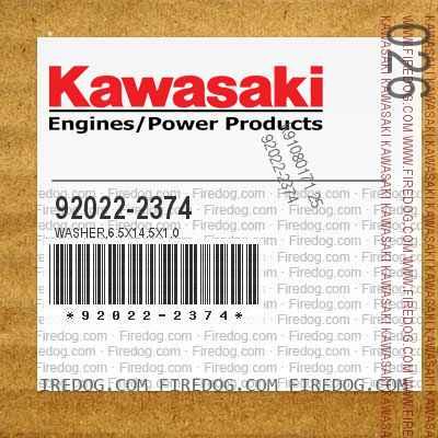 92022-2374 WASHER,6.5X14.5X1.0