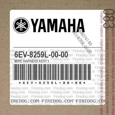 6EV-8259L-00-00 WIRE HARNESS ASSY 1