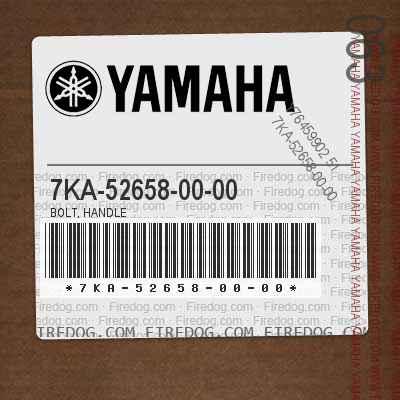 7KA-52658-00-00 BOLT, HANDLE