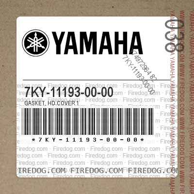 7KY-11193-00-00 GASKET, HD.COVER 1