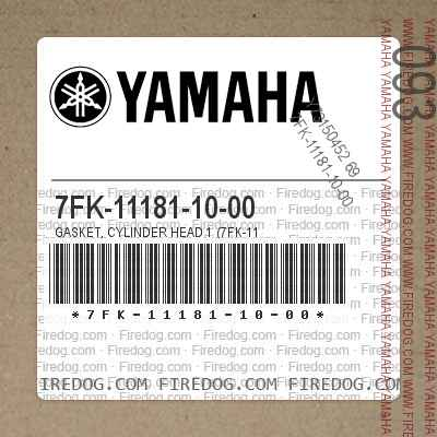 7FK-11181-10-00 GASKET, CYLINDER HEAD 1 (7FK-11