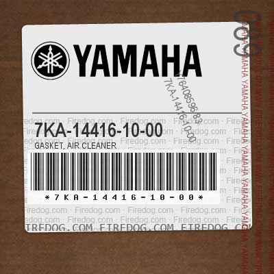 7KA-14416-10-00 GASKET, AIR CLEANER