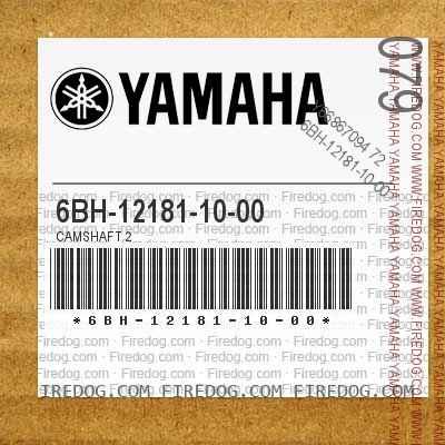 6BH-12181-10-00 CAMSHAFT 2