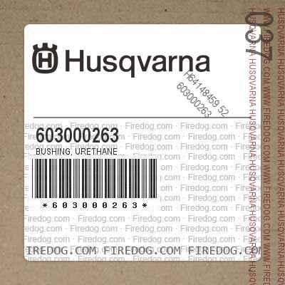 603000263 Bushing, Urethane
