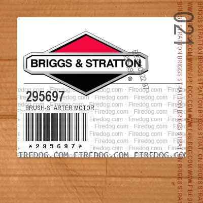 295697 Brush-Starter Motor