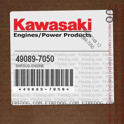 49089-7050 SHROUD-ENGINE
