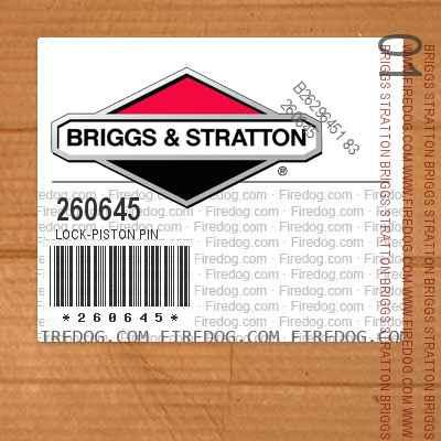 260645 Lock-Piston Pin