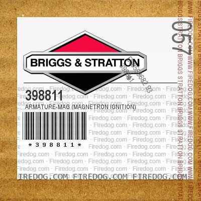 398811 Armature-Mag (Magnetron Ignition)