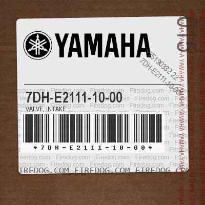 7DH-E2111-10-00 VALVE, INTAKE