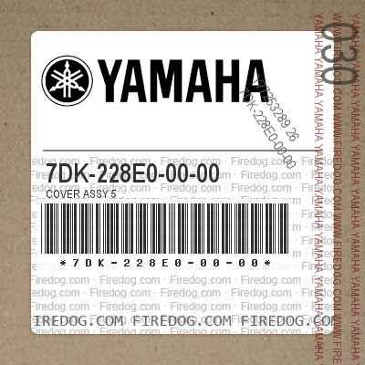 7DK-228E0-00-00 COVER ASSY 5