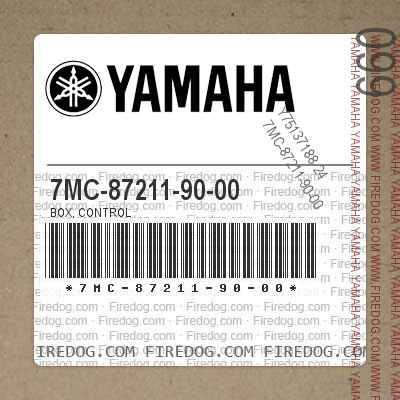 7MC-87211-90-00 BOX, CONTROL
