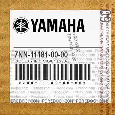 7NN-11181-00-00 GASKET, CYLINDER HEAD 1   (7VU2)