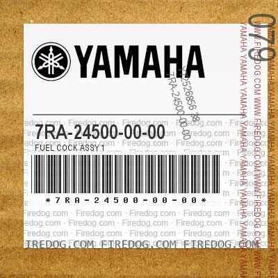 7RA-24500-00-00 FUEL COCK ASSY 1