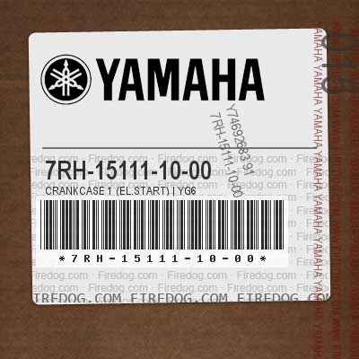 7RH-15111-10-00 CRANKCASE 1 (EL.START)   YG6
